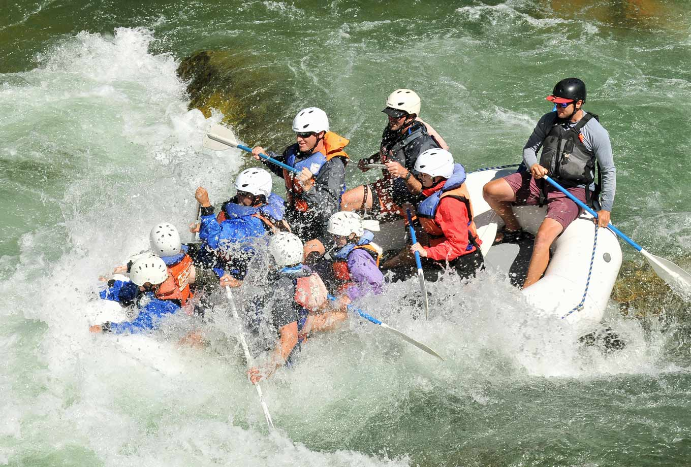 Yellowstone National Park whitewater rafting