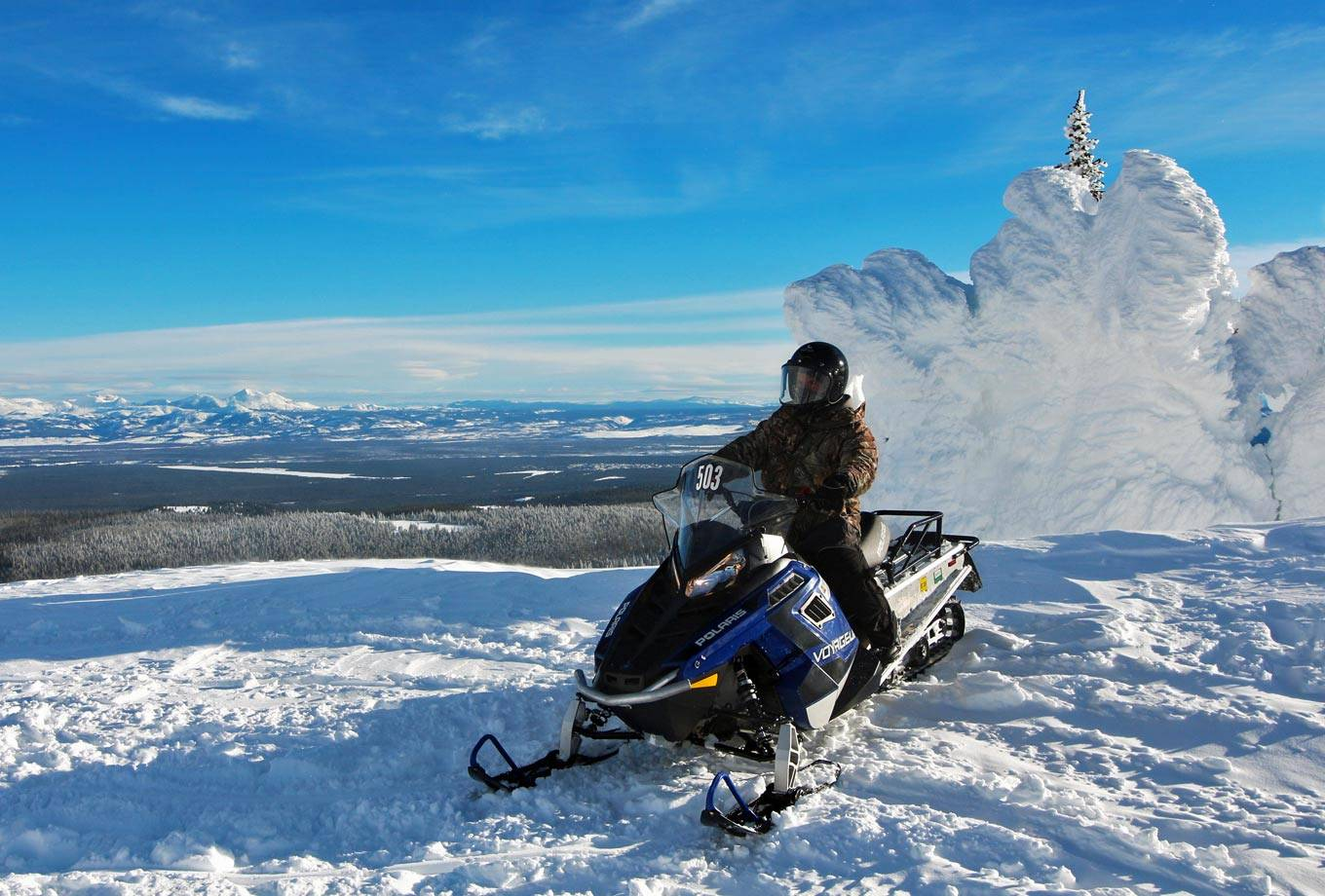 West Yellowstone Snowmobile Rentals