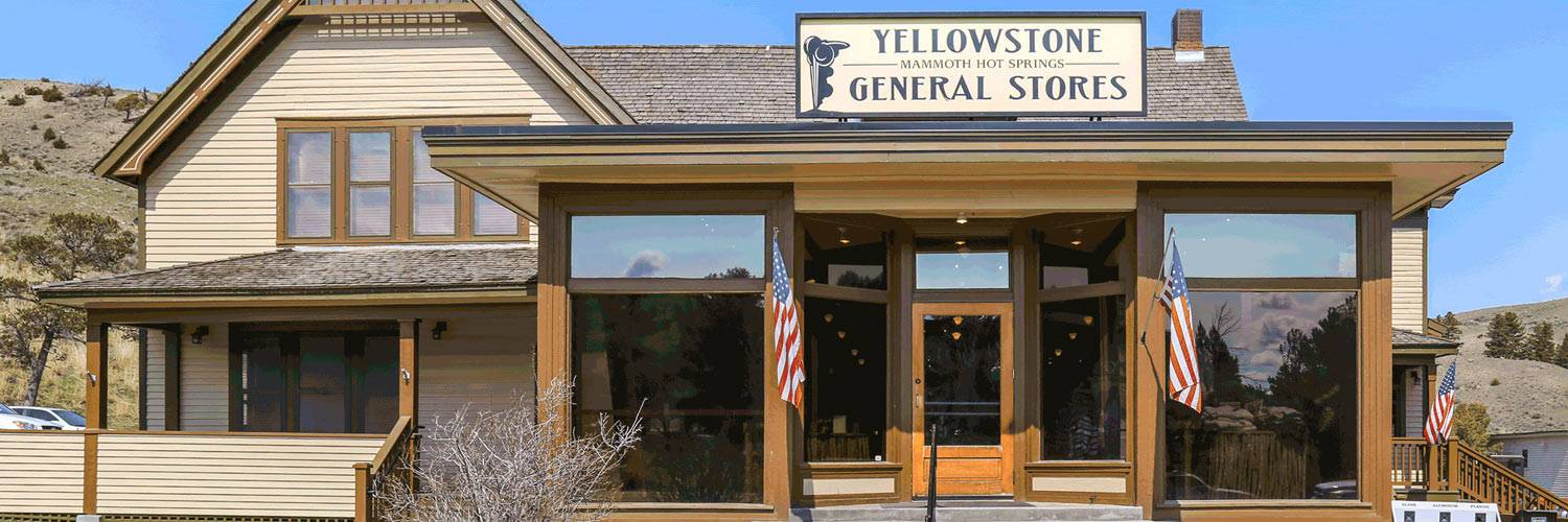 Exterior of Yellowstone General Stores